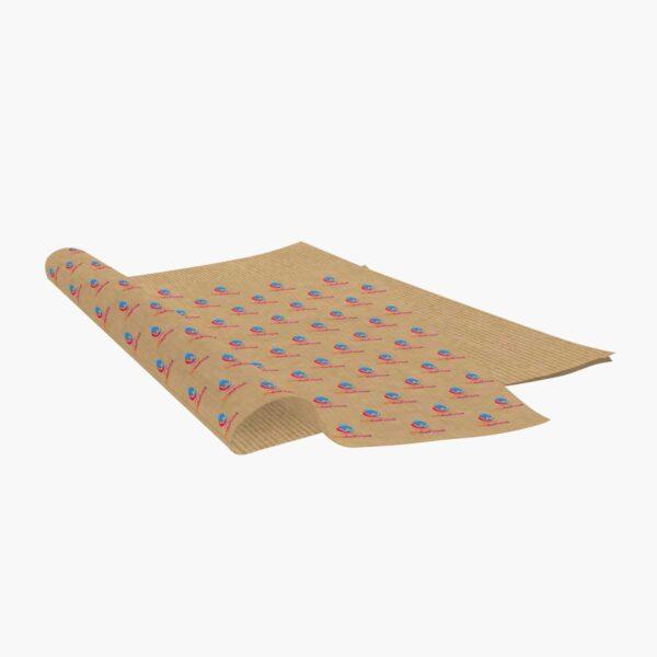 szary papier pakowy