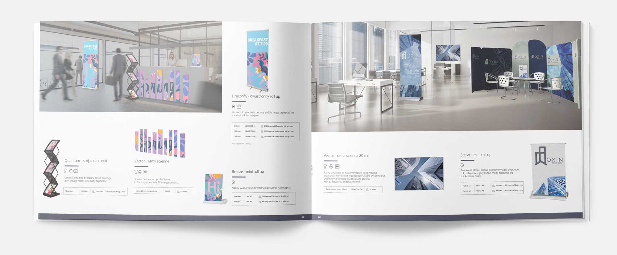 katalog systemów wystawienniczych